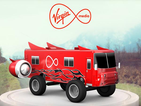 Virgin Media / banners
