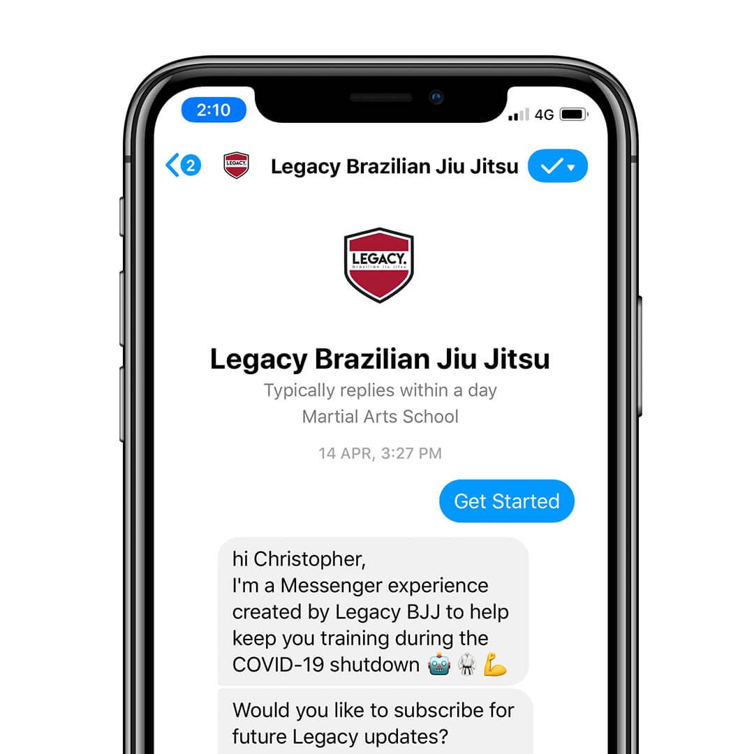 Legacy / BJJ bot