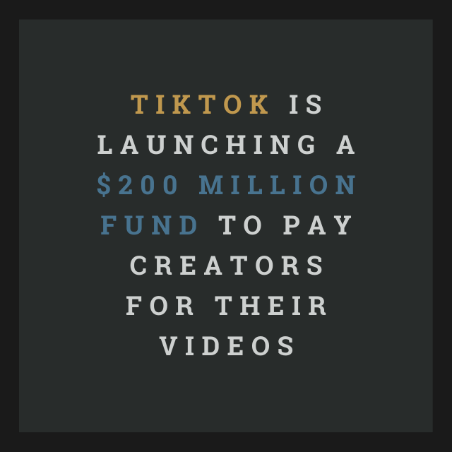 TikTok Launch $200 Million Fund