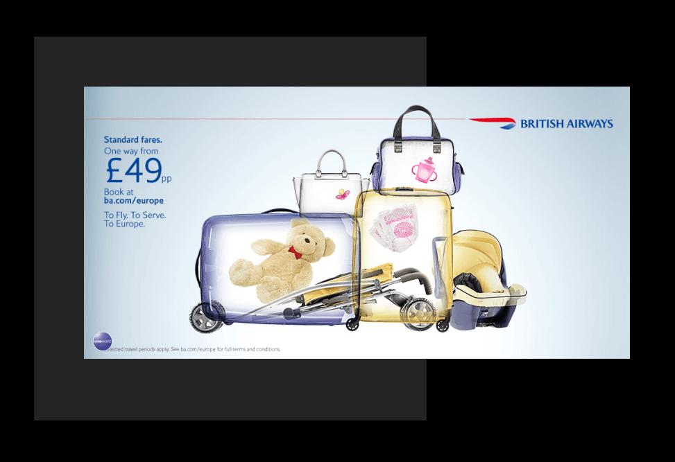 British Airways / banners